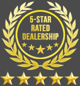 Five star rated dealership