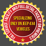 Specializing only on Jeep